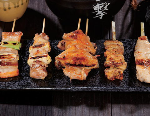 Yakitori set 5 pc